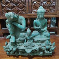 Patung Perunggu Budha Pajangan Antik