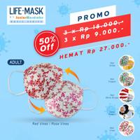 Life Mask Ac 29 cup mask motif