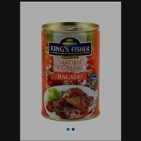 King's fisher sarden goreng balado 425gr