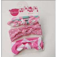Bando Set 3pcs Bandana Headband Bayi Anak Perempuan Korea BA002 - NO. 1