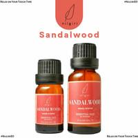 Nilgiri 10mL/20mL Sandalwood Essential Oil Minyak Aroma Terapi