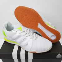 Sepatu Futsal Adidas Top Sala IN White Signal Green