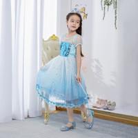 Baju elsa Frozen | Dress Frozen Elsa | Baju Ulang Tahun Anak
