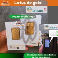 Emas Logam Mulia Antam 10 Gram - Emas Antam 10 gr - Fine Gold 10 gr