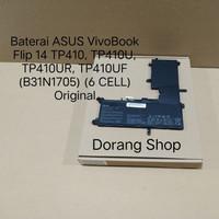 Baterai ASUS 14 TP410 TP410U TP410UR TP410UF B31N1705 6 CELL Original