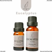 Nilgiri 10mL/20mL Eucalyptus Essential Oil Minyak Aroma Terapi