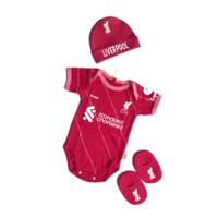 Set 3 in 1 Jumper Bayi Bola Liverpool Baju Kaos Bayi Anak