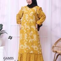 Gamis Ivoni lee, batik pekalongan, baju muslim