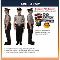baju seragam setelan pdh pdl security satpam keamanan safari terbaru