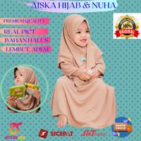 Baju gamis anak perempuan muslim murah terbaru Coksu L 4 tahun