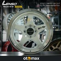 Velg Mobil Lenso Project D1-SE Ring 15 White