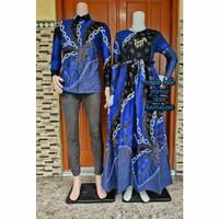 batik gamis couple keluarga baju sarimbitan