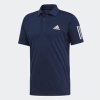 Baju Pria Adidas CLUB 3STR POLO Men's Tennis Shirt DU0850