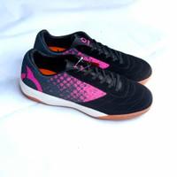 Ortuseight Jogosala Avalanche Black Sepatu Futsal Kulit Original