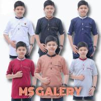 baju koko anak laki-laki usia 13-15 /smp kelas 1-3 lengan pendek