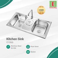Kitchen Sink Dapur / Bak Cuci Piring Europe Enchanting E1066