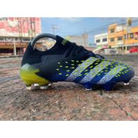 Soccer Adidas Predator Freak .1 Low FG - Blue Black White Yellow