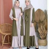 Baju Gamis Wanita Muslim Remaja Wanita Dewasa Kekinian Murah Terbaru