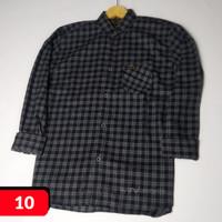 Kemeja Flanel Wanita Pria Casual Lengan Panjang Distro Kotak Flannel