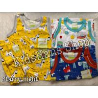 Baju anak bayi setelan kaos kutung celana pendek Velvet Junior L isi 3