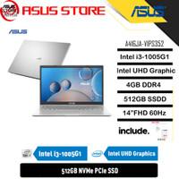 ASUS VIVOBOOK A416JA-VIPS352 I3-1005G1 4GB 512GB 14 BACKLIT W10 OHS
