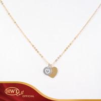 Kalung Emas HWT GOLD - KLK056 - 17K - Rose Gold