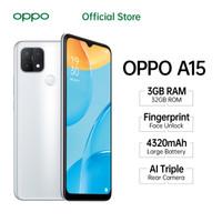 OPPO A15 Smartphone 3GB/32GB (Garansi Resmi)