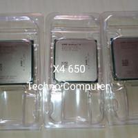 Prosesor AMD AM3 Athlon II X4 650 3.2GHz 4-Cores 4-Threads X4-650