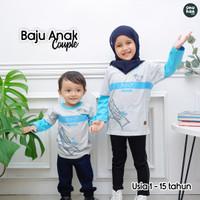 Baju Kaos Anak Laki Laki Perempuan Couple Kembar Ammar Kids RT01 Japan