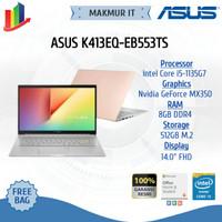 ASUS K413EQ-EB553TS(i5-1135G7/MX350/8G/512G PCIe/IPS/HEARTGOLD/OPI)