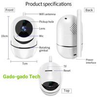 CCTV IP CAMERA WIFI 1080P 2MP AUTO TRACKING CAMERA YCC365 WIRELESS HIT