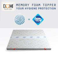 Domi Mattress Topper Memory Foam Sanitized 180 x 200