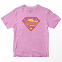 Kaos Anak DC Supergirl, Pink 1-10 Tahun