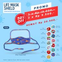 Life Mask Ac 25 Masker anak 3ply