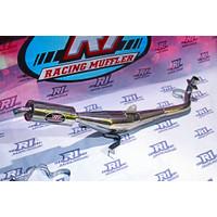 knalpot motor fiz r standar racing suara garing body full crome