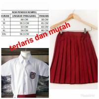 baju sekolah anak perempuan merah putih SD seragam sekolah