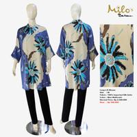 Women Long L/S Blouse Sea Spirit Blue - Bundling Deals MILOS BALI