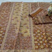sarimbit keluarga kain batik cap tulis bahan viscose cirebon