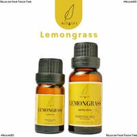 Nilgiri 10mL/20mL Lemongrass Essential Oil Minyak Aroma Terapi