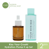 Avoskin Kiss Your Crush! Hydration-Plump it up Set (Hyacross Serum+Ton