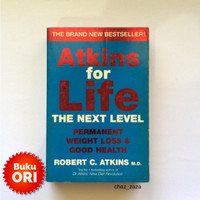 Buku Atkins for life the next level weight loss Low carb import