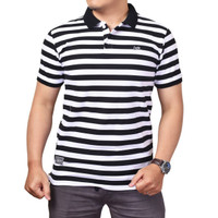 Polo Shirt Salur  Baju Cowok Kaos Polo Premium Orginal Levin