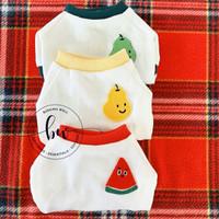 Baju Anjing Kucing - Furou Dog Cat Shirt Kaos Anjing Kucing - Merah, XS