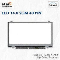 LCD LED 14.0 Slim 40pin ASUS A450L A450C A455L X450C X450J X401U X450