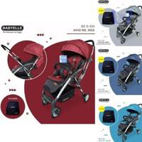 Stroller Kereta Bayi H7Skb2427 Elle 939 Avio Rs New Red Maskur1217