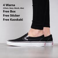 Sepatu Vans Slip On Hitam Premium Quality