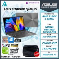 Asus Zenbook Q408UG Ryzen 5 5500 8gb 256ssd MX450 2GB W10 14.0FHD