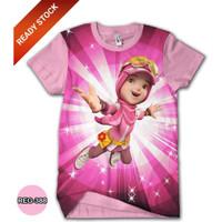 Baju Boboiboy Yaya Anak Perempuan Dewasa Kaos Boboiboy #REG-388