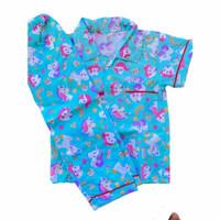 piyama baju tidur perempuan laki laki remaja 12-17 tahun
