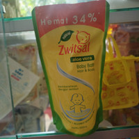 Zwitsal Baby bath hair and body 600ml
